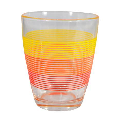 set di bicchieri set di bicchieri domino cerchi acqua vetro fantasia