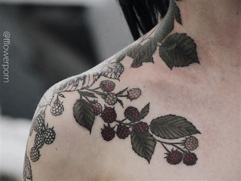 raspberry tattoo designs see this instagram photo by fflowerporn 4 311 likes