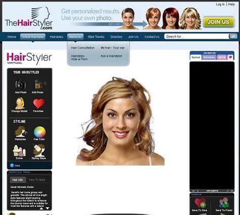 virtual hairstyler free hairstyles galleryfree virtual haircut gallery latest