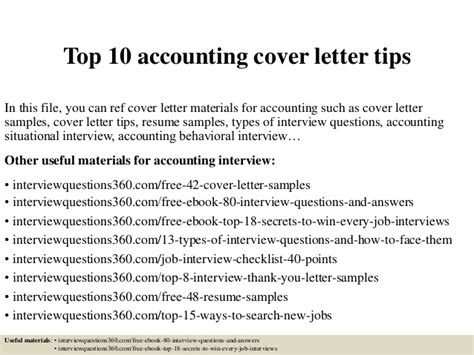 how to write a cover letter for accounting internship top 10 accounting cover letter tips