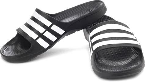 adidas slipper adidas duramo slide slippers buy black1 wht black1 color