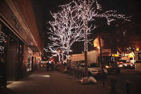 christmas city lights new york nyc image 262893 on