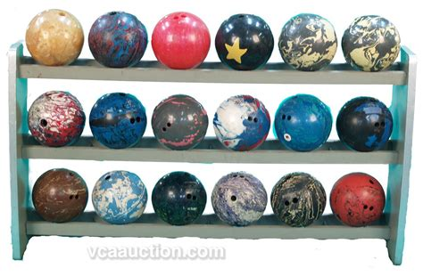 Bowl Rack brunswick 18 bowling rack w 18 colorful bowl
