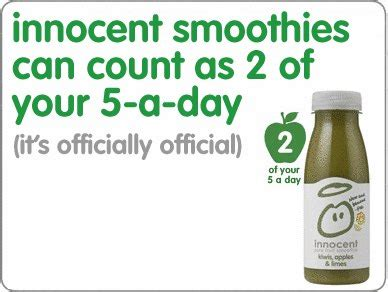 2 fruit smoothies a day smoothies can count as 2 of your 5 a day foodbev media