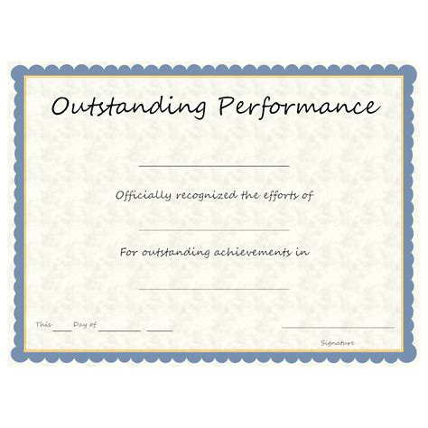 outstanding performance award template okl mindsprout co