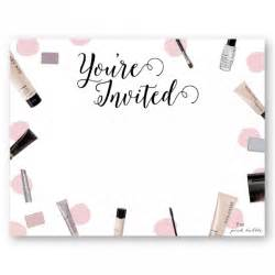 Mary Kay Party Invitations To Inspire You   Thewhipper for