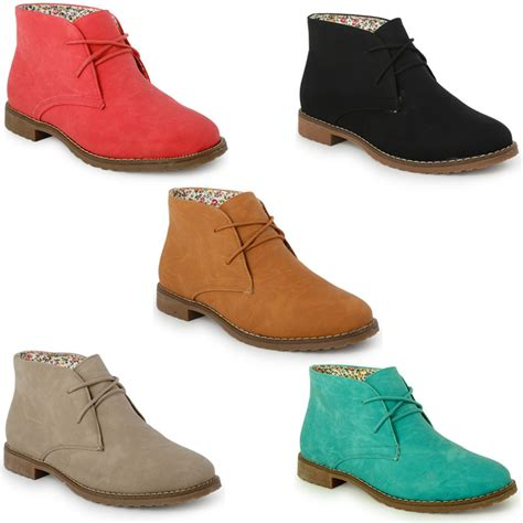 womens flat lace up shoes 22g new womens faux suede desert lace up ankle boots