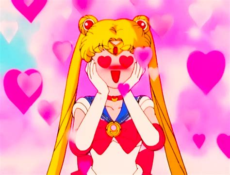sailor moon valentines silver moon power happy s day