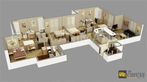 Delightful 4 Bedroom Barn House Plans #2: Outstanding-4-bedroom-house-plans-beautiful-architecture-floor-for-houses-simple-4-bedroom-house-plans-3d-pictures.jpg