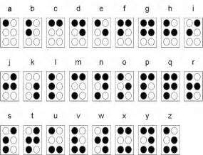 Blind People Brail Barrier Free World Vision Braille