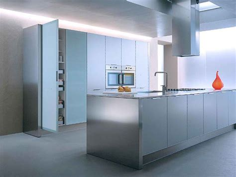 aluminium kitchen designs 10 stylish aluminium stainless steel kitchen designs