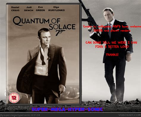 quantum of solace film music quantum of solace movies box art cover by super mega hyper