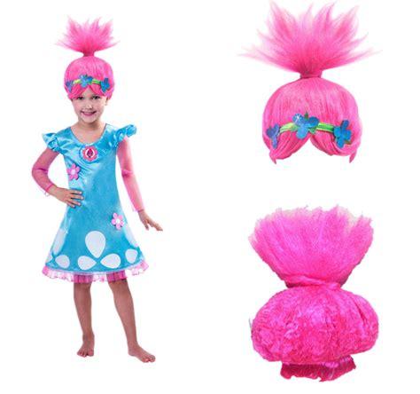 Trolls Poppy Hair Style Doll by Child Trolls Poppy Troll Doll Fancy Dress Costume