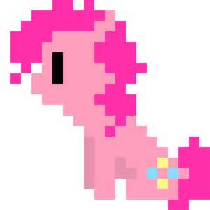 pinkie pie pixel by zztfox on deviantart