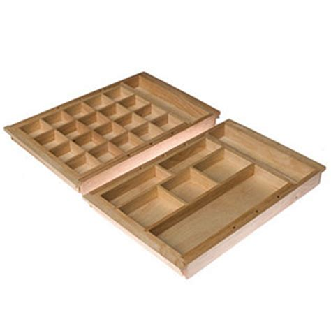 Drawer Organisers Uk by Set Of 2 Wood Expandable Jewellery Drawer