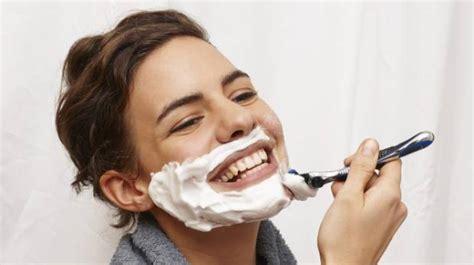 new women shaving trends women shaving their face the latest anti ageing trend