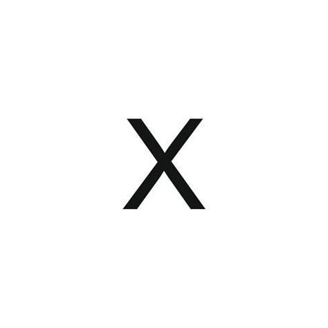stickers lettere sticker lettre x pour coller sur votre voiture mur