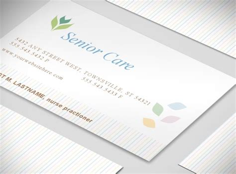 free nursing business card templates archives nativefiles