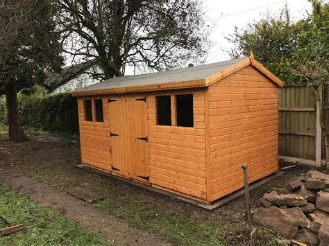 Garden Sheds West by Garden Sheds Made With Quality And Care Outside Black