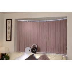 rol lite vertical blind bend it curved headrail vertical blinds for bay amp bow