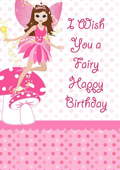 printable birthday cards girl printable kids birthday cards