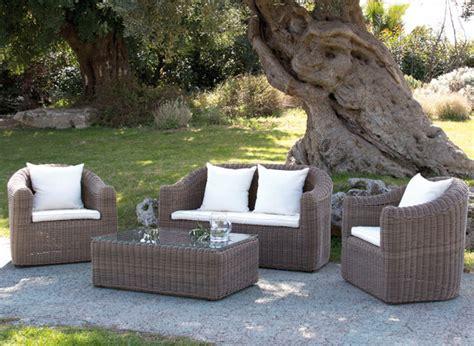 arredamenti per giardini mobili da giardino in polyrattan o textilene by papillon