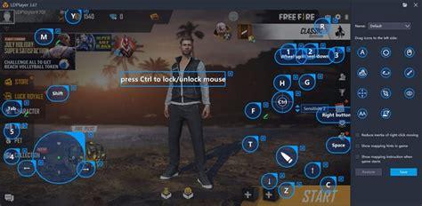 alto desempenho  jogar  fire  pc  ldplayer