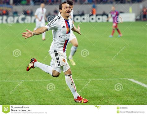s day football player footbal player marcelo diaz goal celebration during