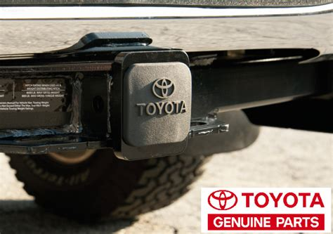 Cover Towing Toyota Agya Original toyota oem pt22835960hp trailer hitch cover tacoma
