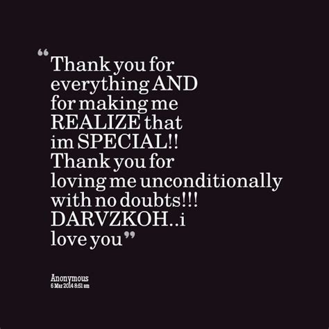 love quotes thank you loving me