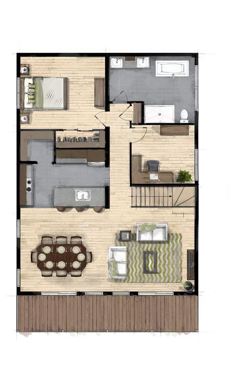Plan De Maison Coté by Altitude Maisons Usin 233 Es C 244 T 233