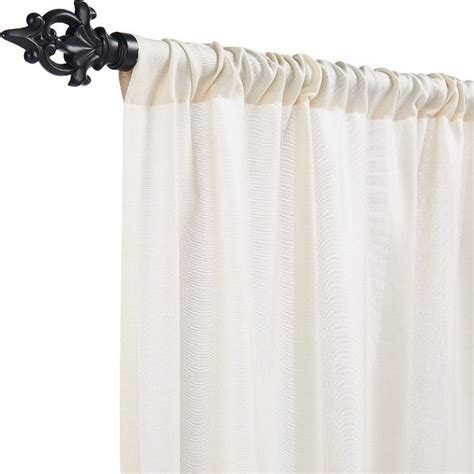 outdoor white curtains outdoor sheer drapery panel in sunbrella mist off white