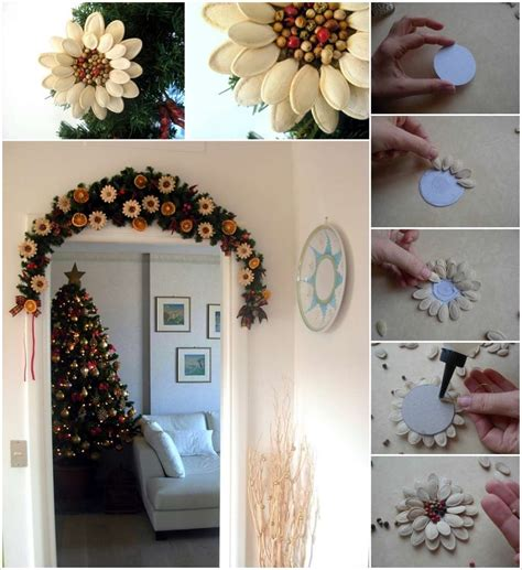 flower decoration ideas home the perfect diy pumpkin seed flower decoration cret 237 que
