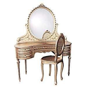 Vintage Bedroom Vanity Table by Vintage Style Vanity Dressing Table With Mirror