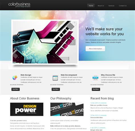 free 3d website templates colorbusiness cuber web template 3d cuber css