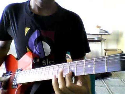 tutorial gitar drive melepasmu drive melepasmu intro melody cover by azhar youtube