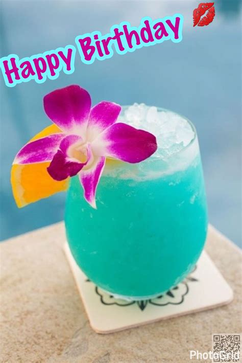 martini birthday wishes hbd tropical drink goodnight messages pinterest