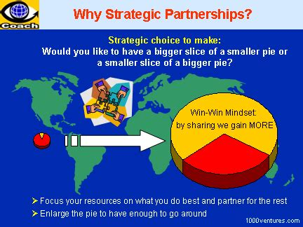 building partnerships and strategic alliances business