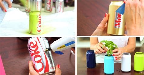 Home Made Halloween Decoration Ideas this mom turned soda cans into fun summer ideas cute