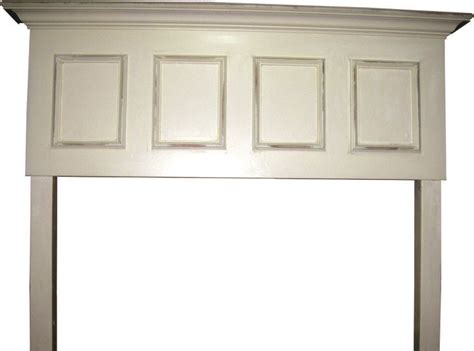 panel door headboard 4 panel size distressed headboard contact vintage headboards to place your order 972 668