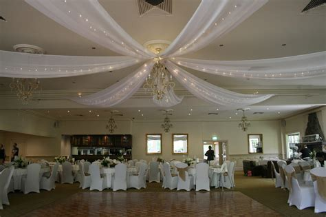 drapes for wedding reception ceiling draping melbourne wedding designers