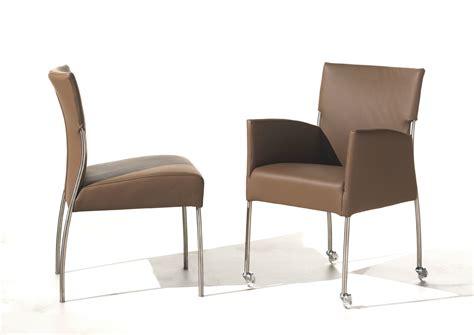 gepolsterter stuhl stuhl mit rollen stuhl mit rollen l beck devita stuhl