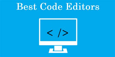 best code editor mac top 10 best code editor for pc windows mac 2018 safe