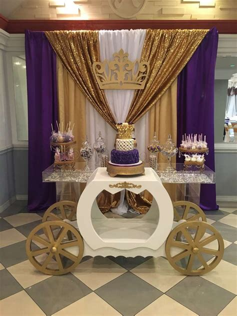 Royal Themed Baby Shower by Princess Baby Shower Ideas Princess Baby Showers