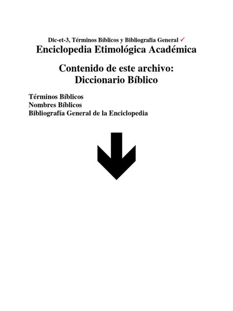 DICCIONARIO BIBLICO ETIMOLOGICO | Espírito Santo (Religião