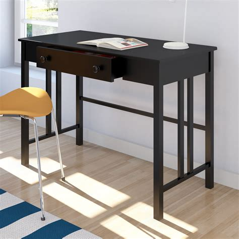 furniture cool black desk with drawers designs custom