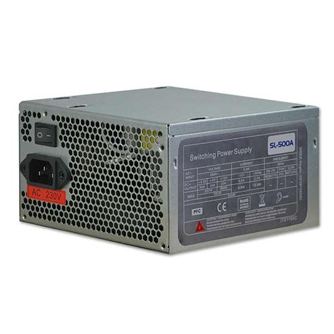 Power Supplay 500w Okaya replacement atx power supply 500w from lindy uk