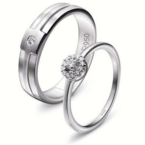 Cincin Kawin Silver 161 buy platinum jewellery in india jewelove