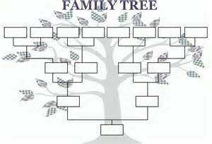 family trees templates family tree template