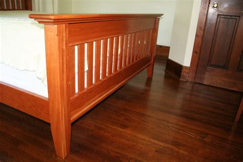 mission style bed custom mission shaker style bed by wooden goose